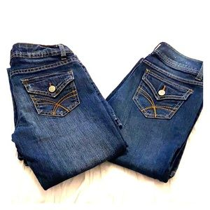 Set of SO Flare/Wide Leg Jeans